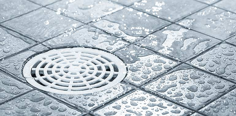 how to clean drains safely