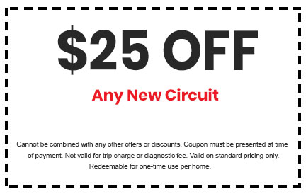 Discount on Any New Circuit