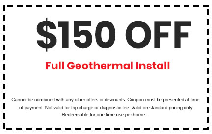 Discount on Full Geothermal Install
