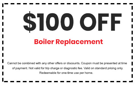 Discount on Boiler Replacement