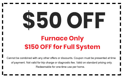 Discount on Furnace or Full System Service