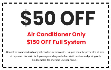 Discount on Air Conditioner or Full System Service
