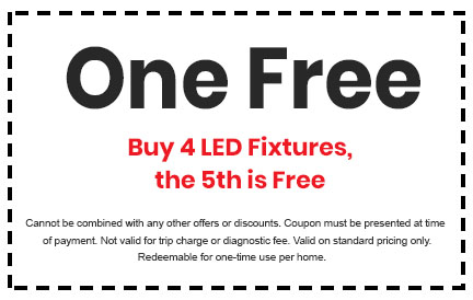 Discount on LED Fixtures