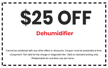 Discount on Dehumidifiers