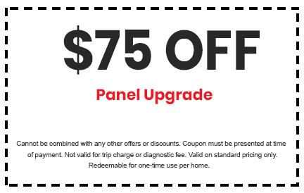 Discount on Panel Upgrade